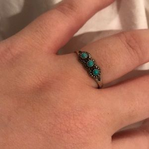 Urban Outfitters Jewelry - Silver & Turquoise Ring
